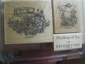 """Stampin' Up """"Thoughts of Father"""" retired stamp set"""