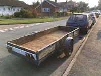 11ft by 4ft Car Trailer