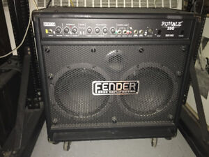 Fender Rumble 350 Bass amp , comme neuf