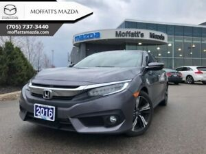 2016 Honda Civic Sedan Touring  - Navigation -  Leather Seats -
