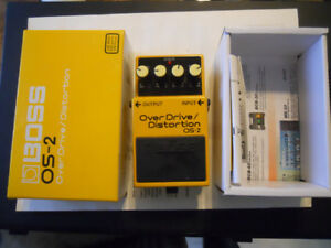 Boss Overdrive/Distortion OS-2 Pedal