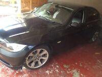 BMW 320 d Diesel 2005 2.0 black colour leather interior 10 month Mot