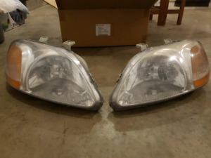 Headlights and Taillights from 97' Honda Civic