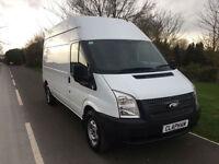 2012 62 FORD TRANSIT 350 LWB 100 BHP EURO 5 DIESEL VAN WHITE NO VAT
