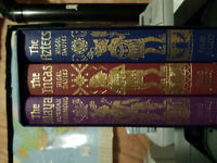 Folio Society Hard Cover Books