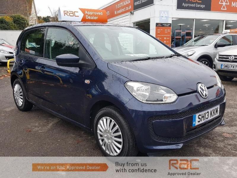 VOLKSWAGEN UP MOVE UP Blue Auto Petrol, 2013