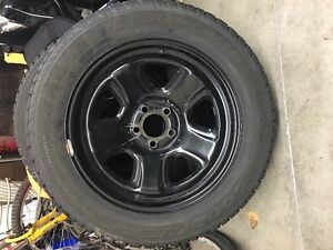 "18"" Goodyear Eagle Winter Tires (Set of 4) with police rims"