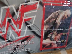 """WWF 4""""x 6"""" 216 Photocards FACTORY SEALED (VIEW OTHER ADS)"""