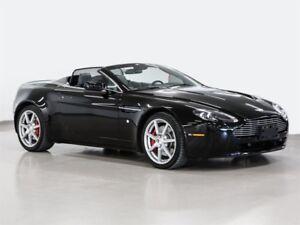 2009 Aston Martin V8 Vantage Roadster Sportshift inspected and r