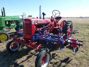 Restored 1954 Farmall Super C Tractor