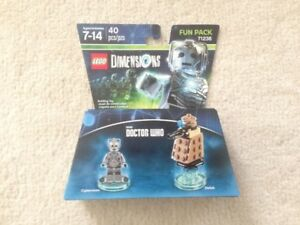Lego Dimensions Cyberman Fun Pack 71238 New Unopened
