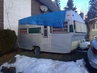 1970's 14ft travel trailer