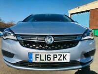 2016 Vauxhall Astra 1.6 CDTi ecoTEC BlueInjection Design 5dr Hatchback Diesel Ma