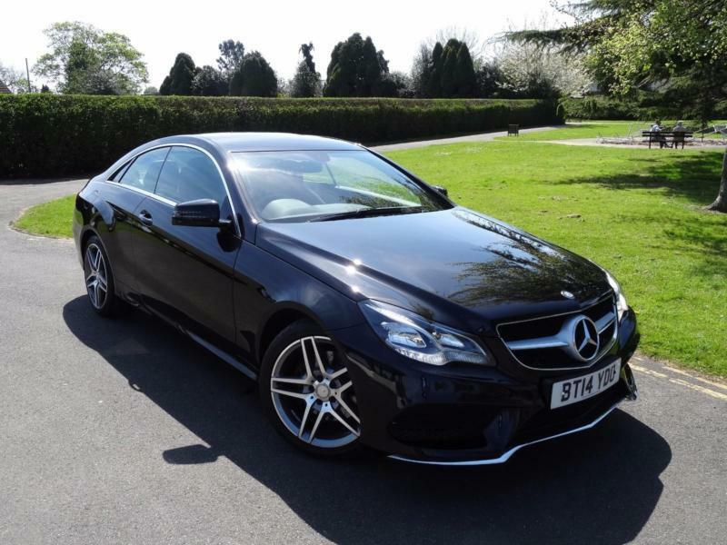 mercedes e class e220 amg sport coupe 2014 14 in ilford. Black Bedroom Furniture Sets. Home Design Ideas