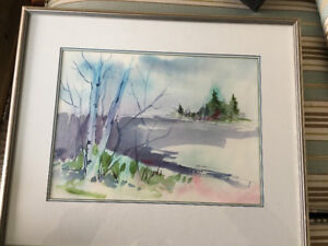 Stunning watercolour by Susan Hubley