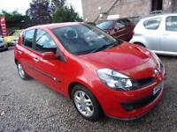 RENAULT CLIO 1.4 dynamique 2006 Petrol Manual in Red