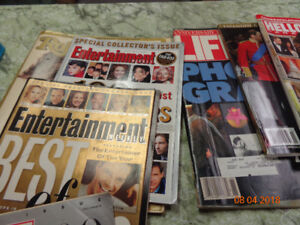Assorted anniversary editions of Magazines