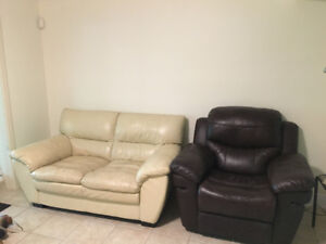 Couches free good condition