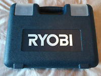 Ryobi Drill / Driver Set with Case (Never used)