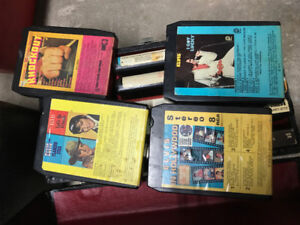 84 x  8 Track tapes