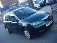 2005 55 PLATE Mazda 2 1.4 Antares 5dr in Green