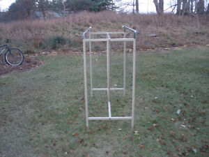 TWO-SIDED ADJUSTABLE CLOTHING RACK London Ontario image 3