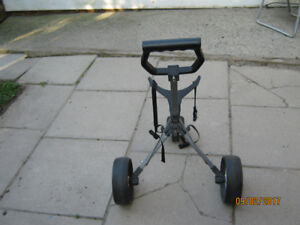 Lite Weight Collapsible Pull Cart, Clean