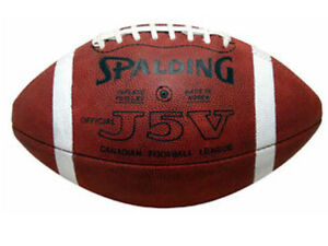 Looking to BUY CFL J5V Spalding football Regina Regina Area image 4