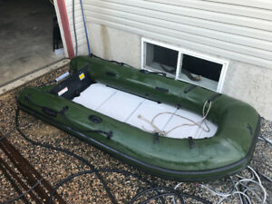 12ft Mercury inflatable boat