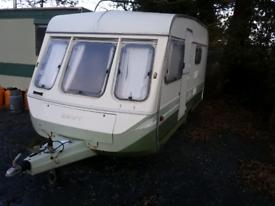 Swift caravan 4 birth