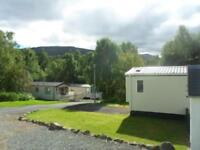 Willerby Mistral Static Caravan at Tummel Valley near Pitlochry, Scotland
