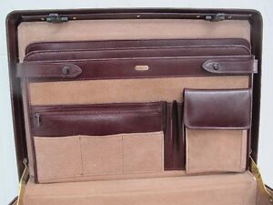 Vintage leather briefcase  by Renwick for the executive