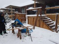 Todd's deck and fence - cheap CASH RATES - 30 years exp.