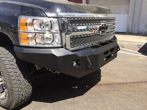 Chevy Silverado 2500 Front Winch Bumper (08-13)