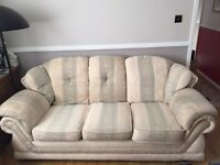 3 seater and 2 seater matches sofas FREE TO A GOOD HOME