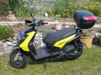 2009 Yamaha YW125Y Scooter for sale