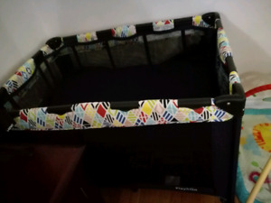 Playpen,playmat,high chair, infant carrier, crib protector
