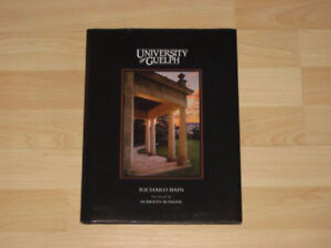 UNIVERSITY OF GUELPH PHOTO BOOK (LARGE, GREAT CONDITION)