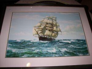 Tall Ship on the Ocean