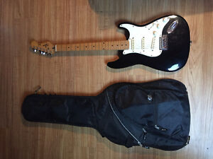 Squier stratocaster by fender electric guitar