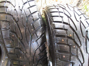 """Winter studded  tires 17"""""""