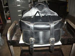 leatherbags and brackets