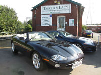 2004 Jaguar XK8 4.2 Auto Convertible Black With Ivory Leather One Former Keeper