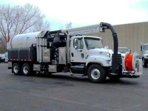 MODEL 900 - ECO, TRUCK MOUNTED COMBINATION SEWER CLEANER