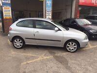 Seat Ibiza sport, 2005, 1.9 diesel, clean car, drives well, £995