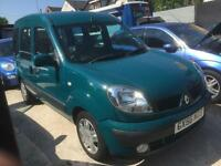 Renault Kangoo 1.6 16v automatic 2006 DISABLED wheelchair adapted vehicle WAV