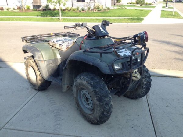 Used 2002 Honda Fourtrax