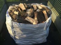 BUILDERS BAGS OF LOGS