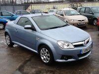 Vauxhall Tigra 1.3 DIESEL,NICE MILES,1 OWNER,CONVERTIBLE,72 MPG,NEW MOT