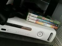 Xbox 360 60g hard drive controller and games